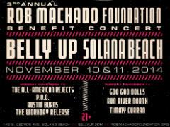 The Rob Machado Foundation Hosting Benefit in November @ARTISTdirect